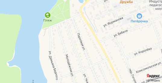 Парковая улица в Кирове с номерами домов на карте. Спутник и схема онлайн