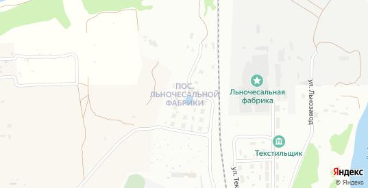Поселок Льнозавод в Ржеве с номерами домов на карте. Спутник и схема онлайн