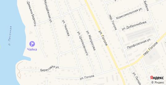 Улица Циолковского в Кирове с номерами домов на карте. Спутник и схема онлайн