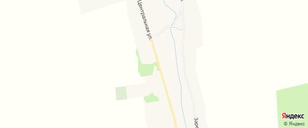 Карта села Салтановки в Брянской области с улицами и номерами домов