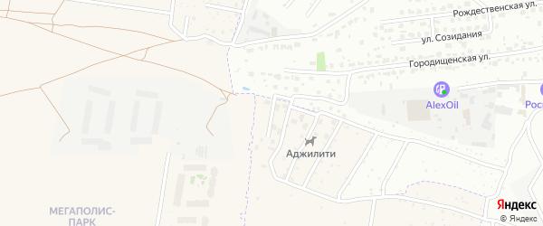 Орловская улица на карте поселка Путевки с номерами домов