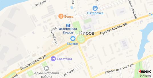 Улица ПЧ-50 в Кирове с номерами домов на карте. Спутник и схема онлайн