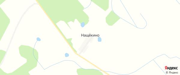 Карта деревни Нащекино в Тверской области с улицами и номерами домов