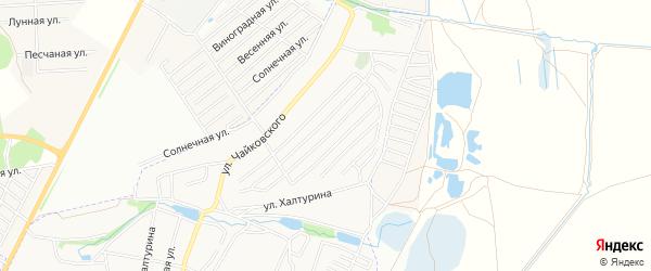 Территория СО 50 лет Советской власти на карте Брянска с номерами домов