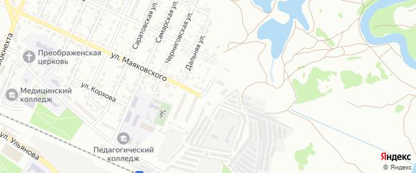 Мглинская улица на карте Брянска с номерами домов