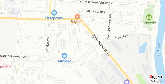 Зубцовский 1-й переулок в Ржеве с номерами домов на карте. Спутник и схема онлайн