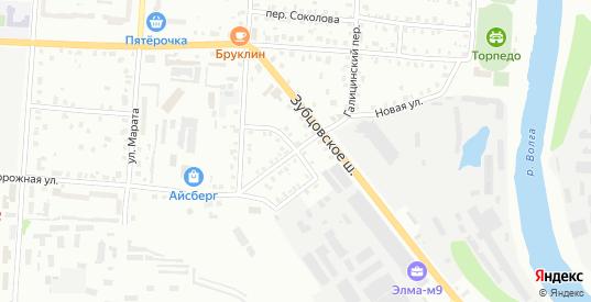 Улица Петровского в Ржеве с номерами домов на карте. Спутник и схема онлайн