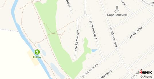 Переулок Котовского в Кирове с номерами домов на карте. Спутник и схема онлайн