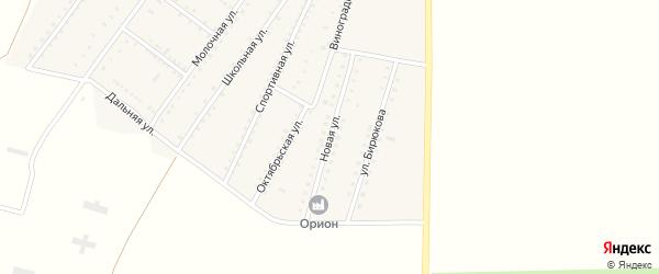 Новая улица на карте Ровного села Крыма с номерами домов