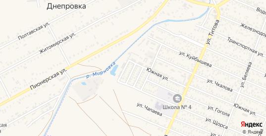 Западная улица в Джанкое с номерами домов на карте. Спутник и схема онлайн