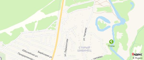 Луговая улица на карте Фокино с номерами домов