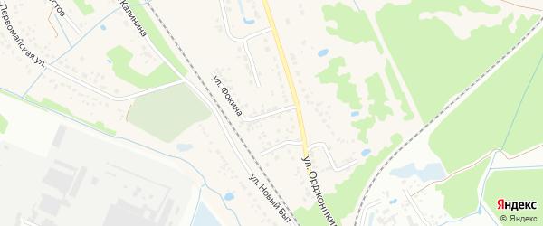 Переездная улица на карте поселка Радицы-Крыловки с номерами домов