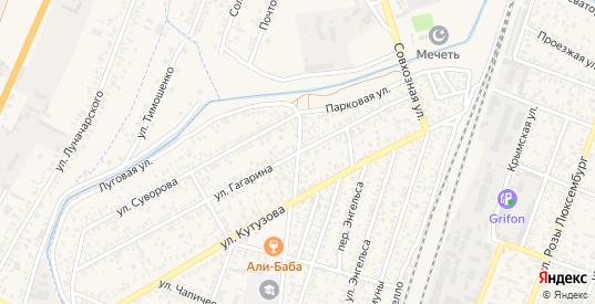 Днепропетровский переулок в Джанкое с номерами домов на карте. Спутник и схема онлайн
