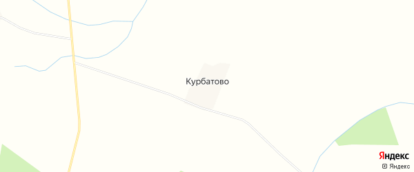 Карта деревни Курбатово в Смоленской области с улицами и номерами домов