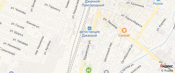 Мирновская улица на карте Джанкоя с номерами домов