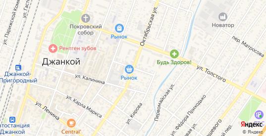 Красноармейская улица в Джанкое с номерами домов на карте. Спутник и схема онлайн