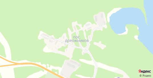 Поселок Дорожников в Медвежьегорске с номерами домов на карте. Спутник и схема онлайн