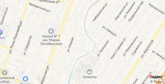 Перекопский переулок в Джанкое с номерами домов на карте. Спутник и схема онлайн