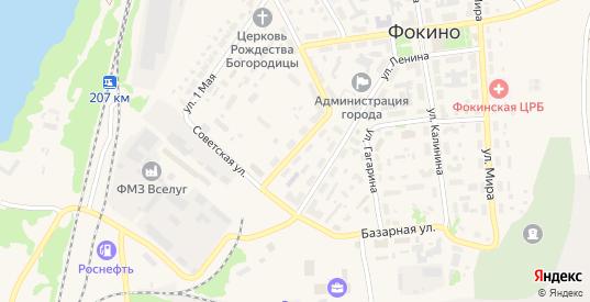 Улица Островского в Фокино с номерами домов на карте. Спутник и схема онлайн
