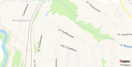 Улица Куйбышева в Фокино с номерами домов на карте. Спутник и схема онлайн