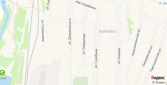 Улица Свердлова в Фокино с номерами домов на карте. Спутник и схема онлайн
