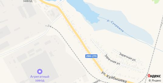 Улица Куйбышева в Людиново с номерами домов на карте. Спутник и схема онлайн