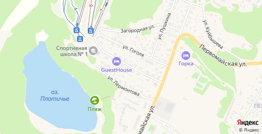 Улица Островского в Медвежьегорске с номерами домов на карте. Спутник и схема онлайн