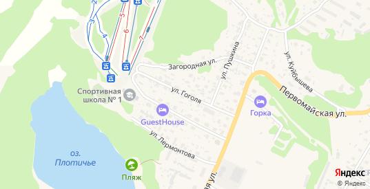 Улица Гоголя в Медвежьегорске с номерами домов на карте. Спутник и схема онлайн