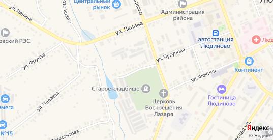 Улица Р.Люксембург в Людиново с номерами домов на карте. Спутник и схема онлайн