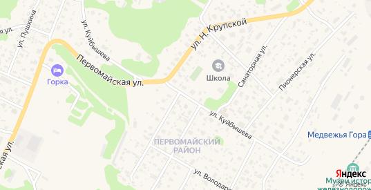 Улица Куйбышева в Медвежьегорске с номерами домов на карте. Спутник и схема онлайн