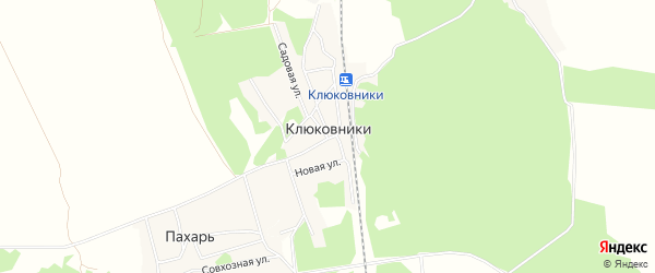 Карта поселка Клюковники в Брянской области с улицами и номерами домов