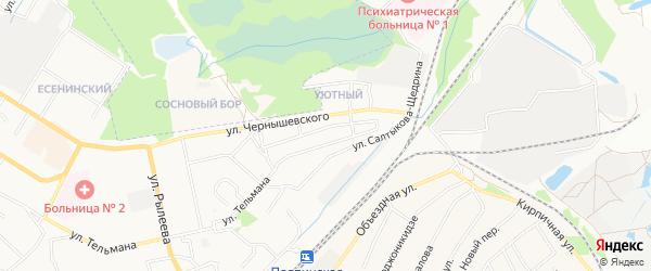 СТ со им Менделеева на карте Брянска с номерами домов