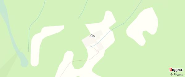 Карта деревни Яма в Тверской области с улицами и номерами домов