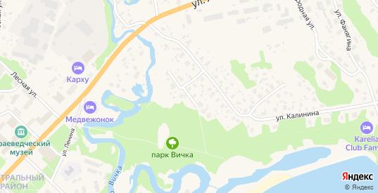 Улица Победы в Медвежьегорске с номерами домов на карте. Спутник и схема онлайн