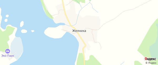 Карта деревни Желнихи в Тверской области с улицами и номерами домов