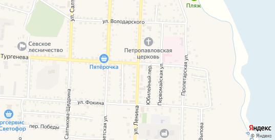 Улица Ленина в Севске с номерами домов на карте. Спутник и схема онлайн