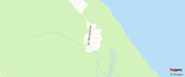 Карта садового некоммерческого товарищества Малиновка (Пиньгуба м) в Карелии с улицами и номерами домов