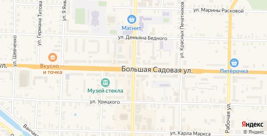 Открытый переулок в Вышнем Волочке с номерами домов на карте. Спутник и схема онлайн
