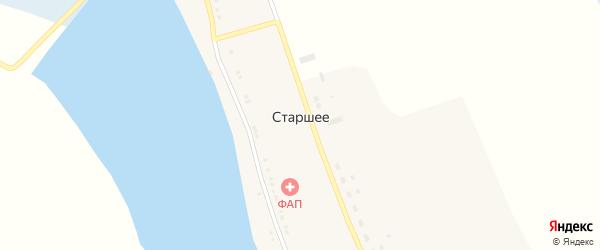 Новая улица на карте Старшего села Курской области с номерами домов