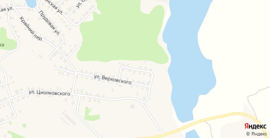 Загородная улица в Вышнем Волочке с номерами домов на карте. Спутник и схема онлайн