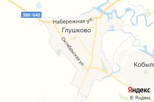 Карта пос. Глушково Курская область