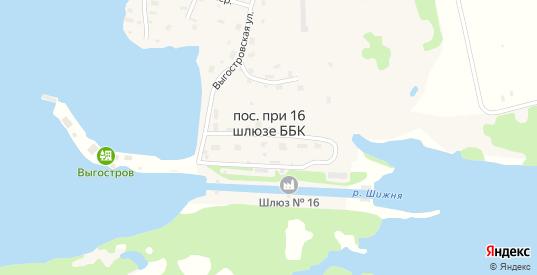 Улица 19 Шлюз в Беломорске с номерами домов на карте. Спутник и схема онлайн