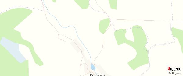 Карта поселка Ровного в Курской области с улицами и номерами домов