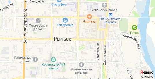 Улица Шелихова в Рыльске с номерами домов на карте. Спутник и схема онлайн