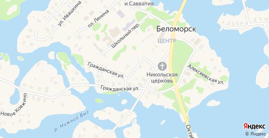 Улица Труда в Беломорске с номерами домов на карте. Спутник и схема онлайн