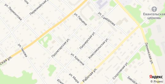 Улица Свободы в Беломорске с номерами домов на карте. Спутник и схема онлайн