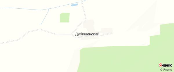 Карта Дубищенский поселка в Калужской области с улицами и номерами домов