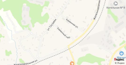 Каменный переулок в Беломорске с номерами домов на карте. Спутник и схема онлайн