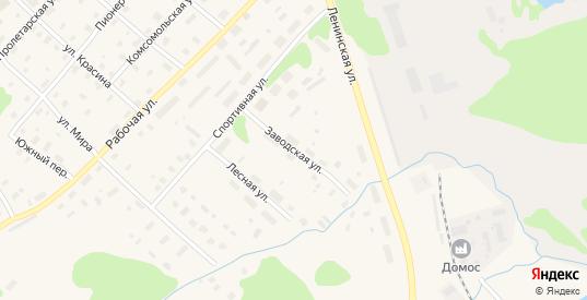 Заводская улица в Беломорске с номерами домов на карте. Спутник и схема онлайн