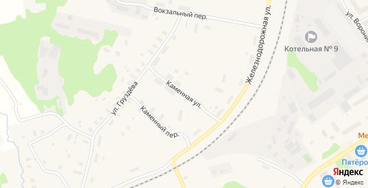 Каменная улица в Беломорске с номерами домов на карте. Спутник и схема онлайн
